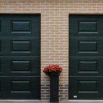 Twee garagedeuren gerealiseerd bij een particulier